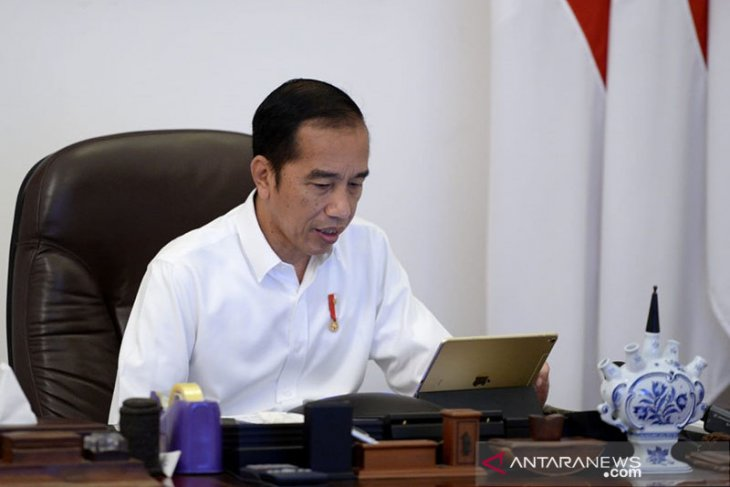 Jokowi: Pembebasan hanya untuk napi umum bukan koruptor