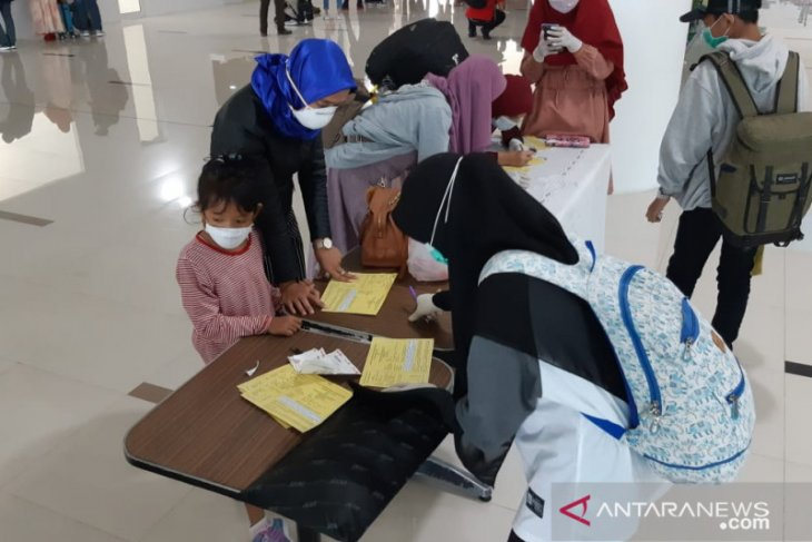 Bandara Jambi berlakukan prosedur pengisian kartu kewaspadaan