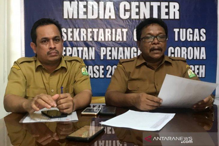 ODP di Aceh menjadi 1.176 orang