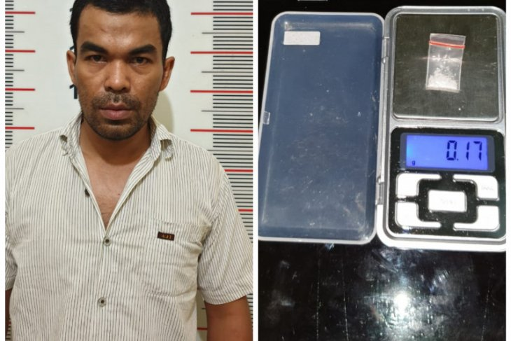 Polisi Pangkalan Susu Langkat amankan warga miliki sabu-sabu