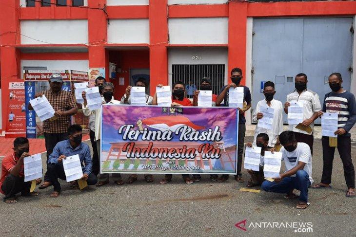 Imbas corona, belasan narapidana Lapas Blangpidie dibebaskan