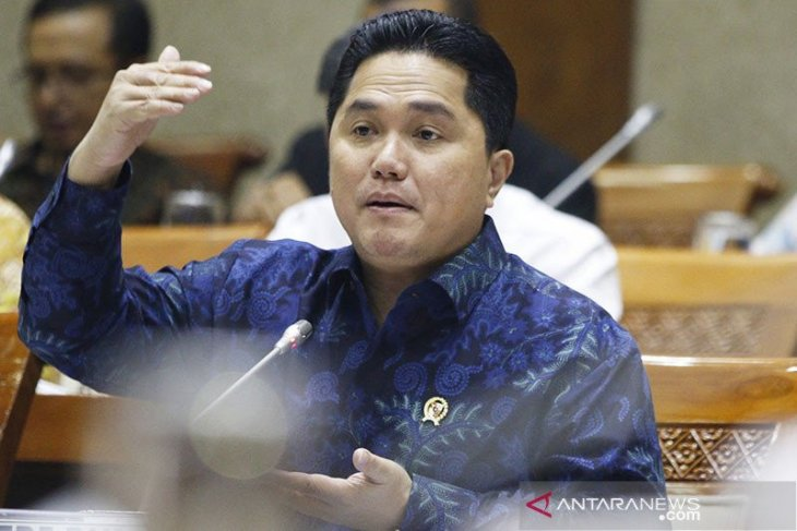 Thohir formulates steps for SOEs to safeguard economy against COVID-19