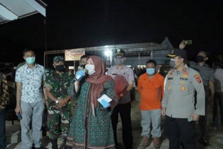 Bupati Muarojambi sambut 103 santri yang pulang dari Pesantren Lirboyo