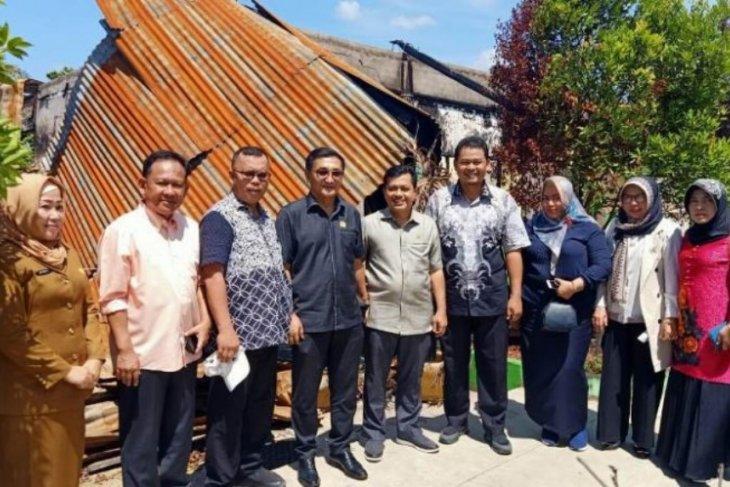 Komisi IV Kunjungi SMAN 8 Merangin pascakebakaran