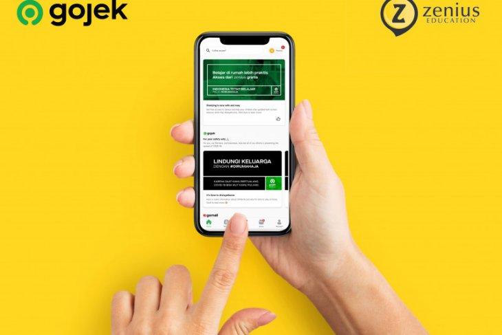 Layanan belajar daring Zenius dan Gojek sediakan layanan gratis