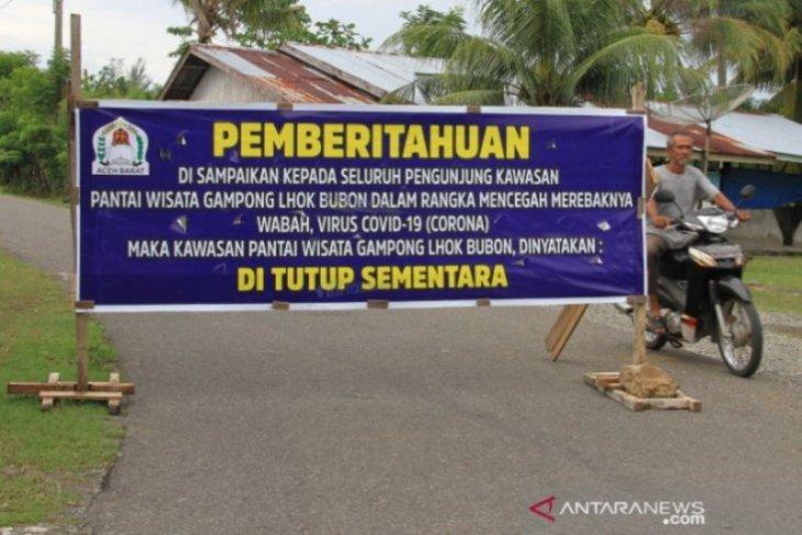 Sejumlah tempat wisata di Aceh Singkil ditutup cegah virus corona