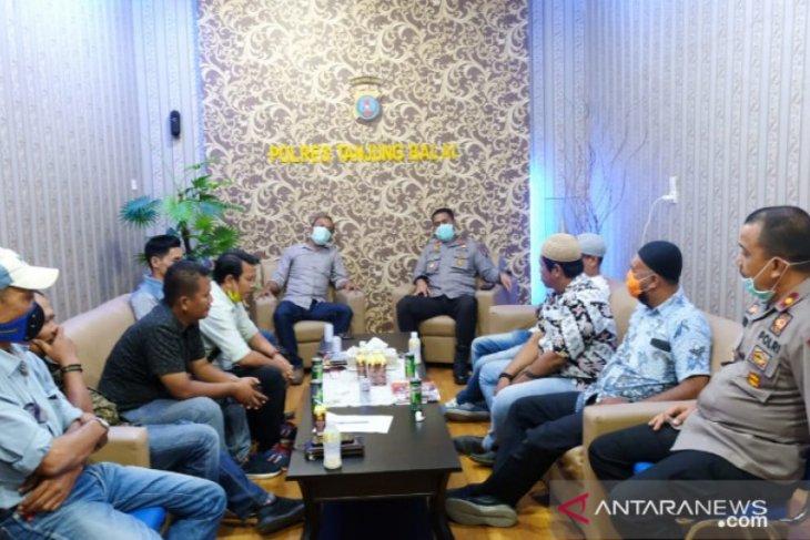 Kapolres Tanjungbalai berharap wartawan sampaikan berita menyejukkan terkait COVID-19