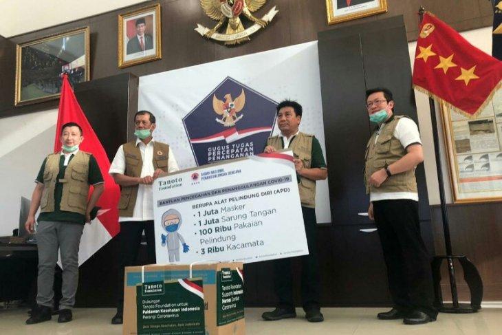 Dukung Gugus Tugas hadapi COVID-19, Tanoto Foundation donasi APD