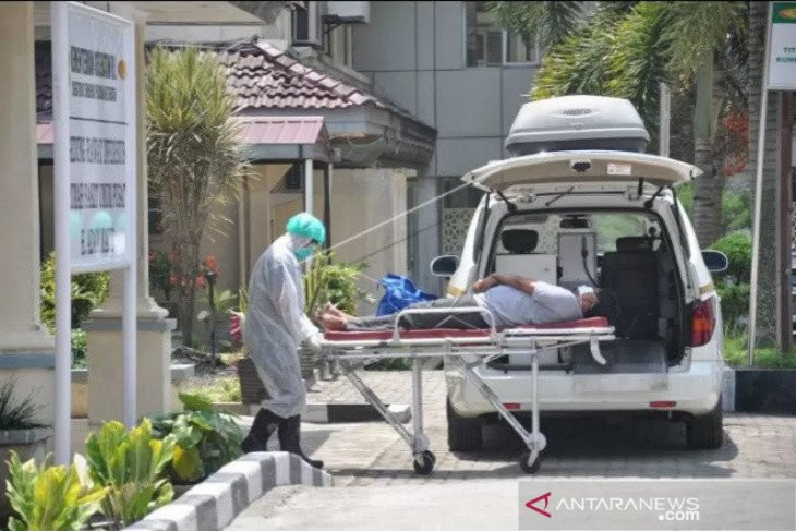 Kasus meninggal akibat COVID-19 karena faktor risiko