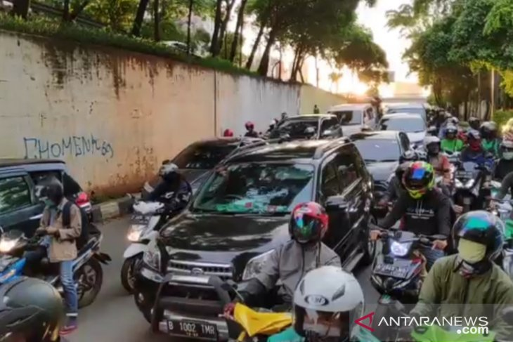 Jakarta's main streets record 21-percent drop in vehicles during PSBB