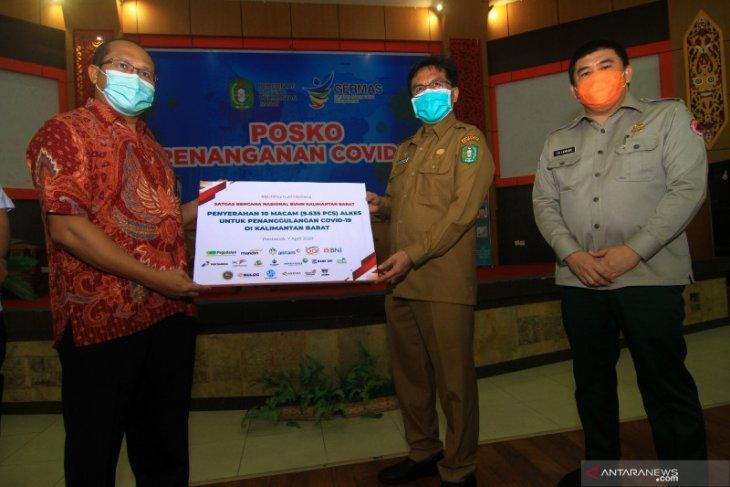 Satgas Bencana Nasional BUMN Kalbar salurkan bantuan senilai Rp3,892 miliar