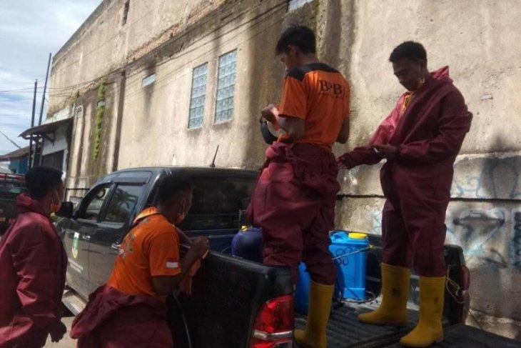 Cegah wabah corona, BPBD Banten dirikan tenda posko di perbatasan Lebak