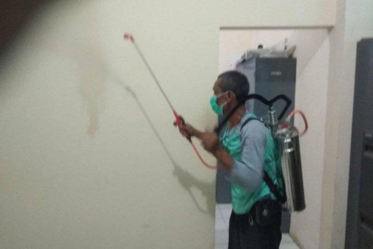 Cegah corona, PMI Lebak semprotkan disinfektan di enam kecamatan