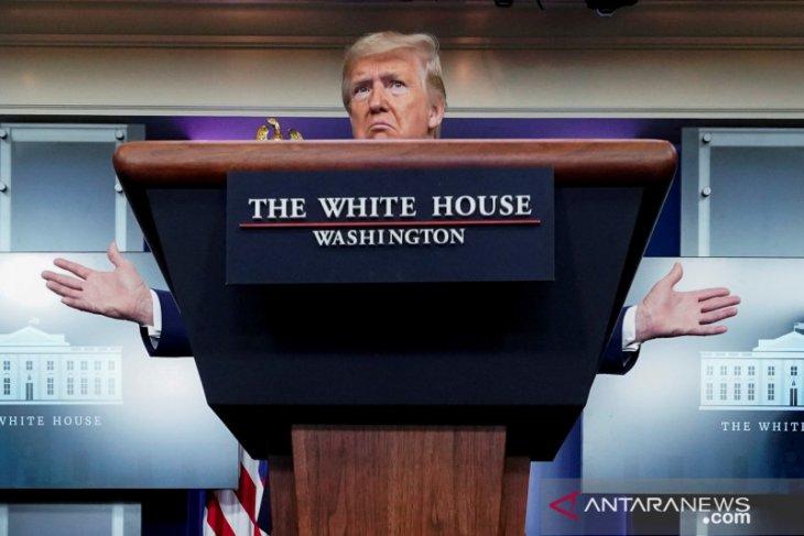 Presiden Trump ingin buka kembali aktivitas ekonomi dengan
