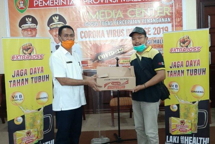 Extrajoss berikan bantuan untuk garda terdepan pencegahan pandemi COVID -19