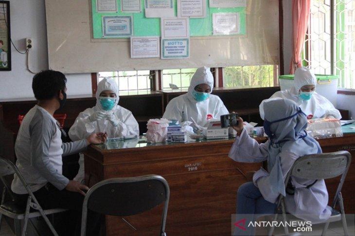 Kontak dengan pejabat Polda, puluhan jurnalis Bengkulu minta dites COVID-19