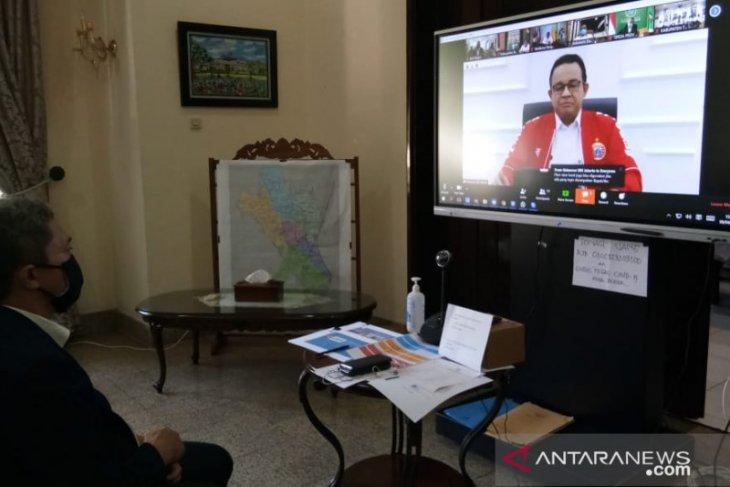 Penerapan PSBB, kepala daerah di Bodetabek koordinasi dengan Gubernur DKI