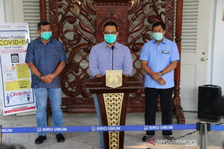 Jakarta mulai menyalurkan Bansos Pembatasan Sosial Berskala Besar