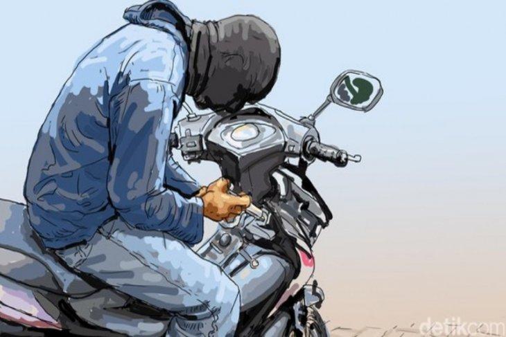 Dua pencuri sepeda motor di Tebing Tinggi didor petugas