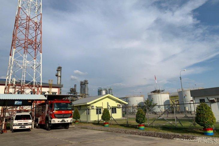 Polisi dan Pertamina EP cek kondisi CPP Gas Gundih usai terbakar