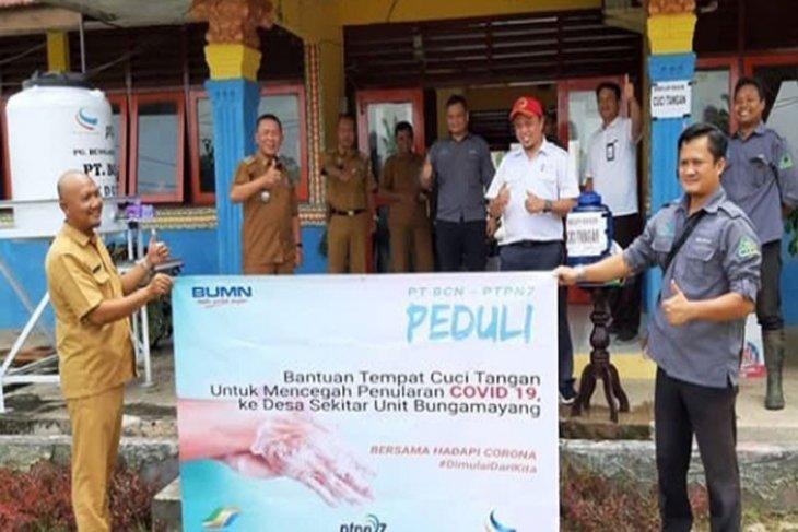 Peduli Covid-19, PT BCN Fasilitasi Desa Penyangga