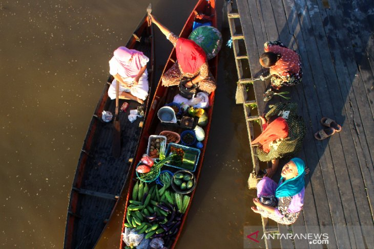Wisata Pasar Terapung Terdampak COVID-19