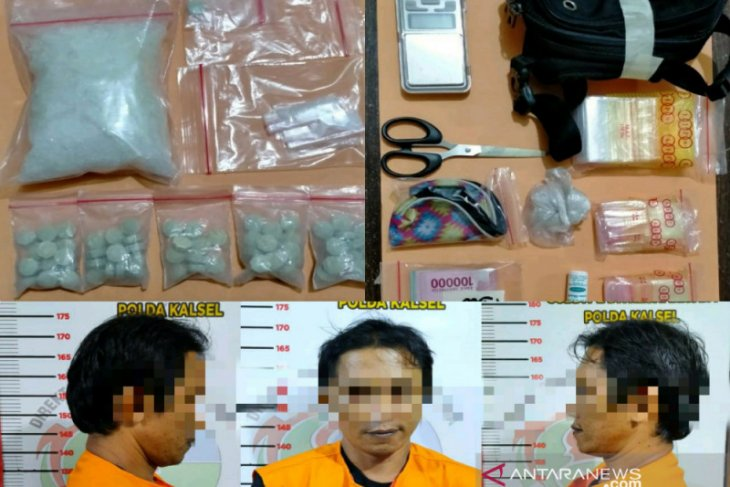 Coba kibuli polisi dengan buang barang bukti,  pengedar narkoba tak bisa berkelit