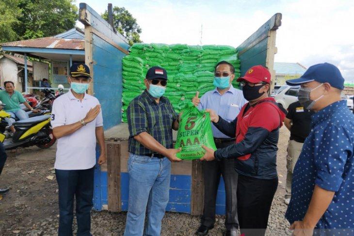 Kubu Raya kekurangan 282 ton beras bantuan dari Pemprov Kalbar