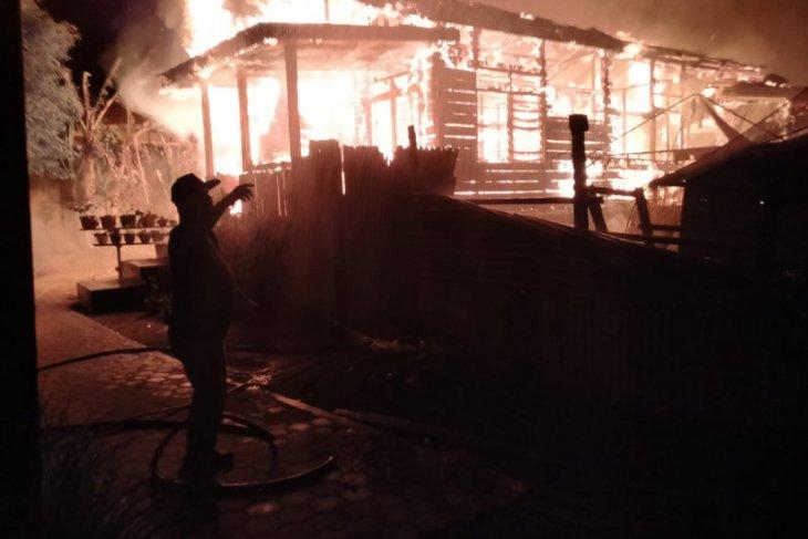 12 rumah ludes terbakar di Langsa