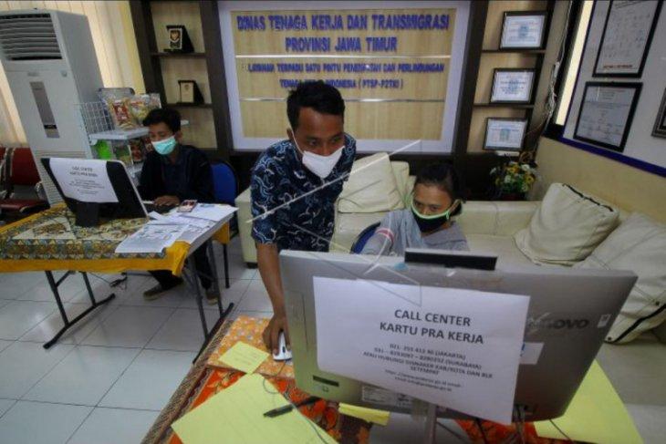 Pendaftaran program kartu prakerja
