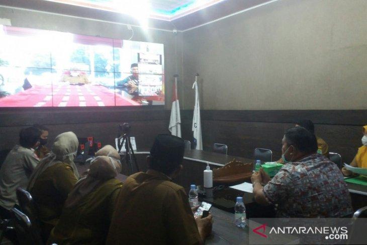 Bupati Labura ikuti videoconference dengan Gubsu