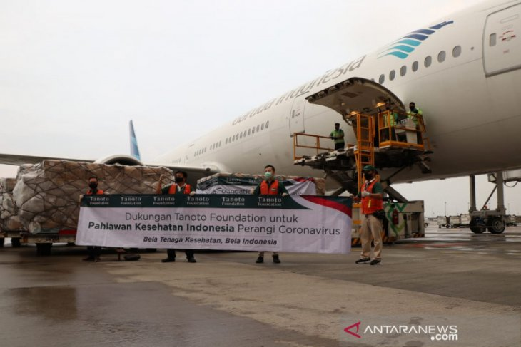 Garuda Indonesia halts domestic flights in areas implementing PSBB