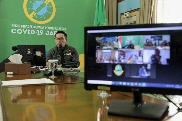 Ridwan Kamil katakan kepala daerah se-Bandung Raya sepakat ajukan PSBB