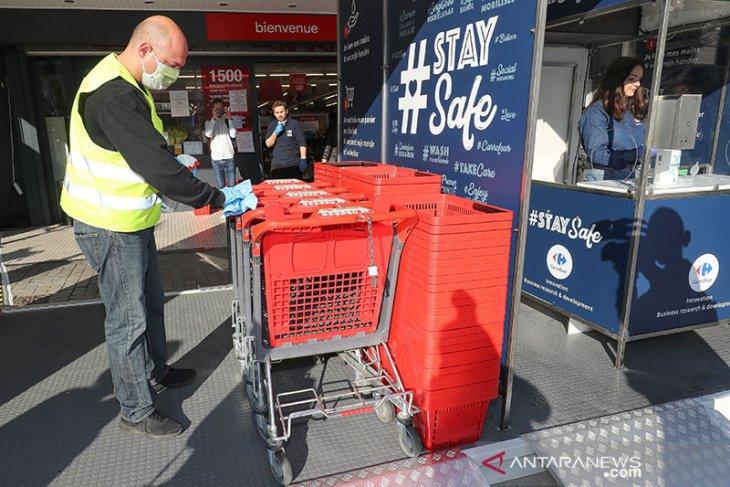 Saham Eropa tergelincir saat Carrefour