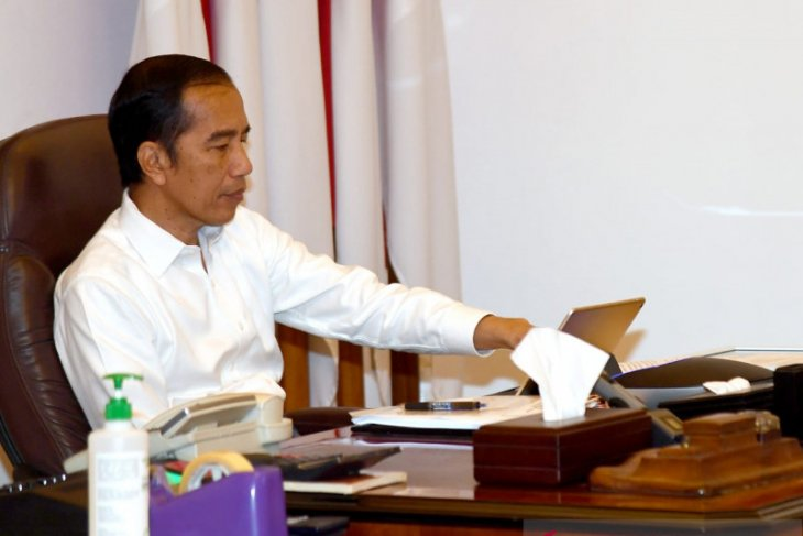 Jokowi to optimize domestic industry for COVID-19 Response