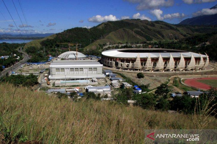 COVID-19 disrupts construction work at Papua's PON sports venues