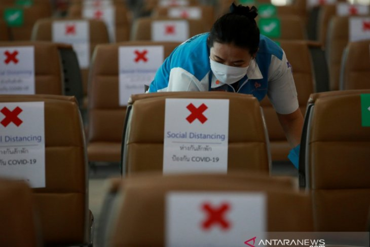 Thailand laporkan 6 kasus baru corona, tak ada tambahan kematian