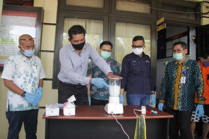 Polres Tabalong musnahkan barang bukti sabu - sabu dan ekstasi