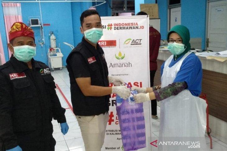 MRI-ACT gelar operasi makan gratis dan masker gratis di HST