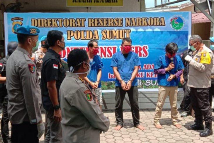 Tiga kurir narkoba jaringan Malaysia ngaku dijanjikan Rp25 juta