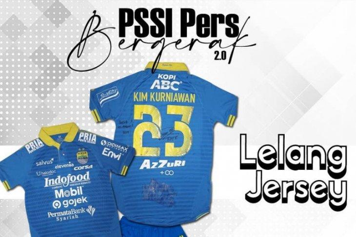 PSSI Pers gandeng klub lelang donasi jersey pemain Liga 1