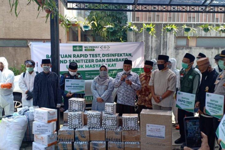 PBNU salurkan bantuan cegah COVID-19 untuk warga Jagakarsa
