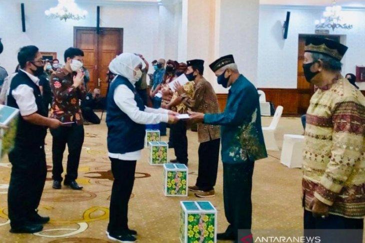 Seniman dan juru pelihara cagar budaya Jatim peroleh penghargaan