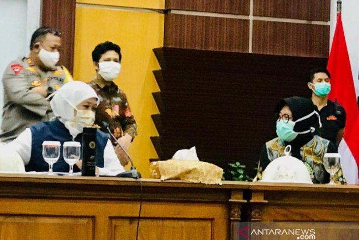 Gubernur Jatim: Surabaya, sebagian Sidoarjo/Gresik, sepakat PSBB