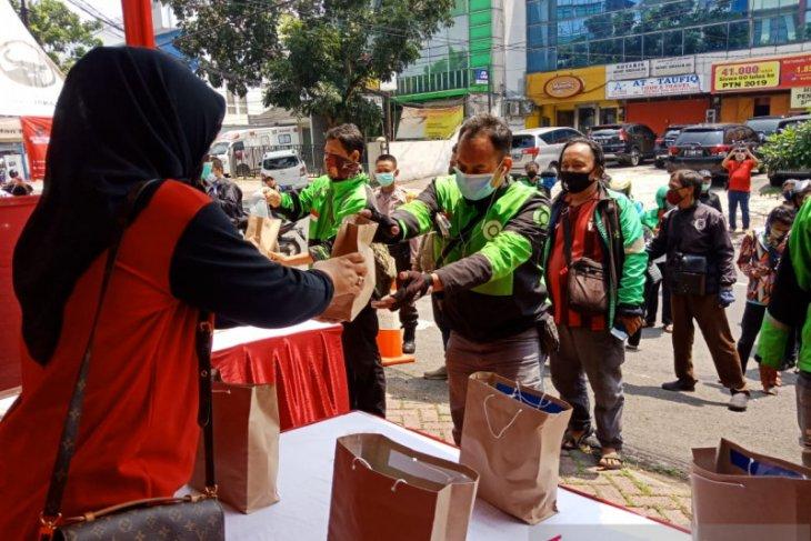 PDI Perjuangan Jakarta buka dapur umum untuk rakyat terdampak COVID-19