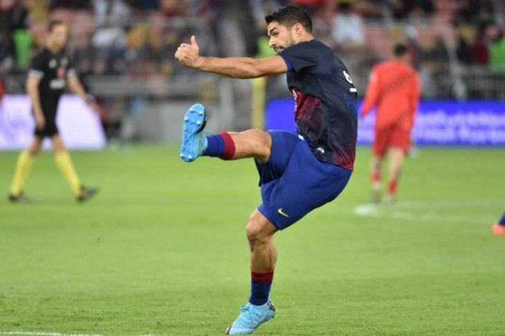 Barcelona dapat suntikan semangat setelah Suarez pulih