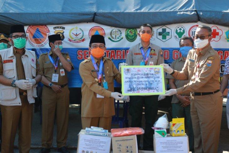 Gubernur terima bantuan perlengkapan medis untuk penanganan COVID-19