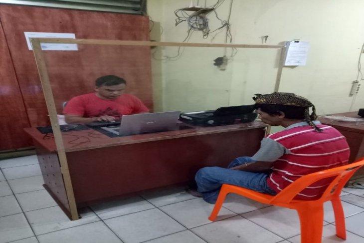 Pencuri 600 batang bibit sawit ditangkap Polsek Salapian Langkat