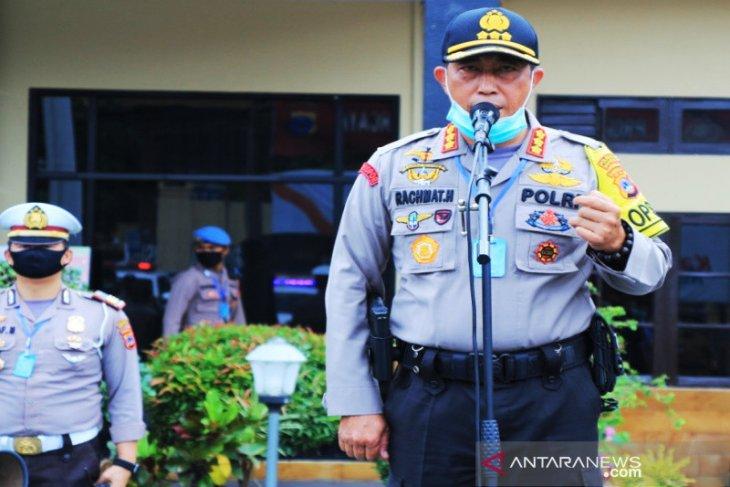 Kapolresta Banjarmasin minta warga tetap berdiam di rumah selama PSBB