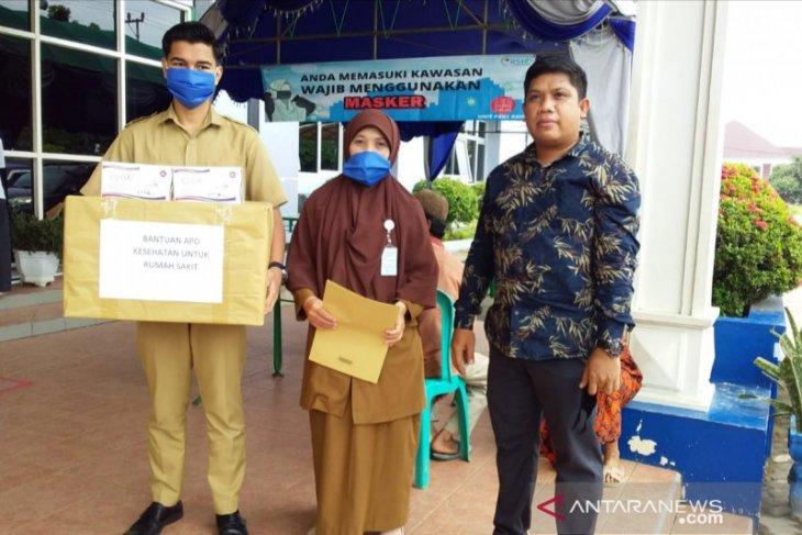 Anggota DPRD Yajid Fahmi sumbang APD dan sarankan HST terapkan PSBB